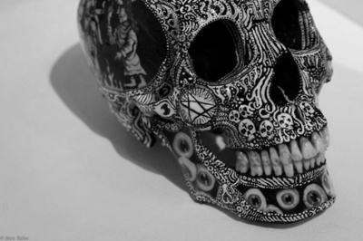 ..: Stuff, Bones, Mexicans Skull, Paintings Skull, Skull Art, Dead, Day, Mexicans Art