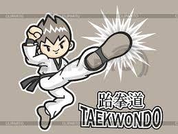 Resultado de imagen de dibujos de taekwondo para imprimir