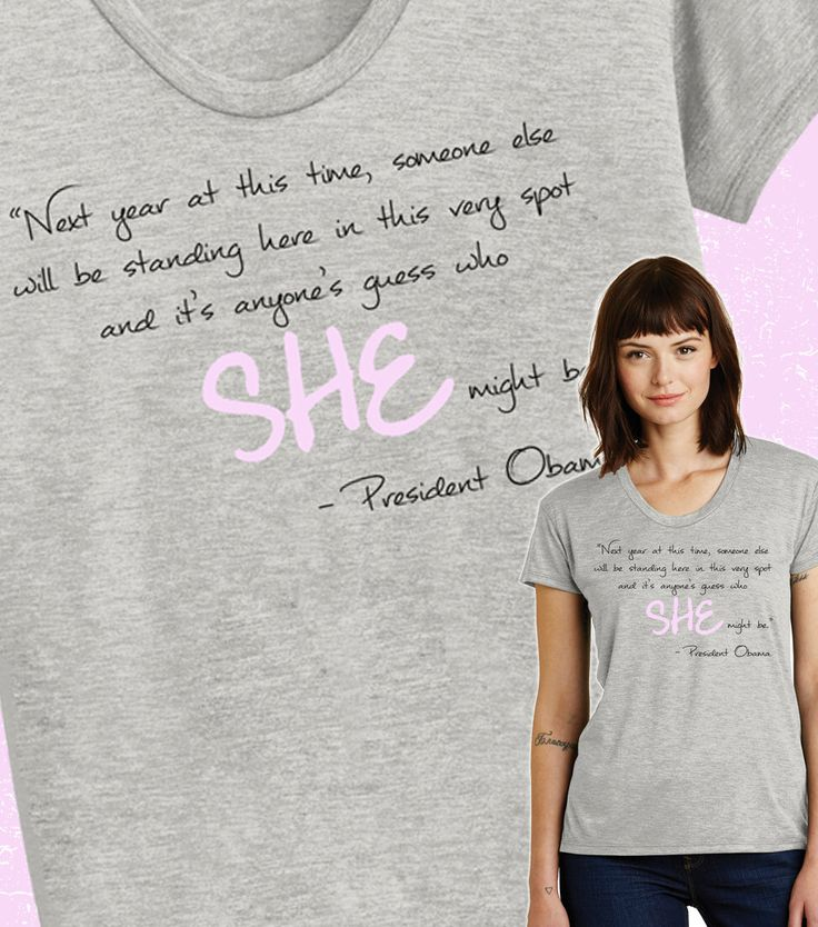 Hillary Clinton Obama Quote Shirt Hillary President 2016 T-Shirt President Obama Correspondents Dinner Quote Alternative Apparel by ShopThePier on Etsy https://www.etsy.com/listing/278649706/hillary-clinton-obama-quote-shirt