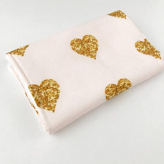 Gold Hearts Burp Cloth, Valentines Burp Cloth, Burp cloths, baby burp cloth, burp rags, baby girl burp cloth, baby girl gift, baby shower gift, burp cloth girl Plush terrycloth and designer cotton make up these baby burp cloths, which we consider one of our new baby essentials! Baby burp