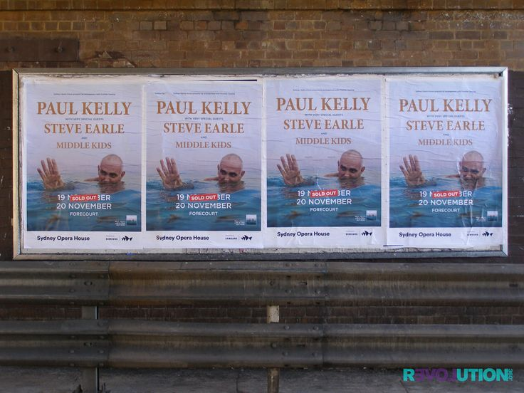 Paul Kelly's first show sold out. Tickets selling fast for his second show November 20. 😀