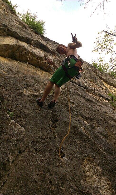 Rock climbing Rókahegy