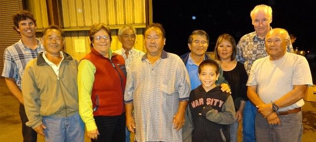 Farmers Support Senator Malama Solomon; Pictured here with Lalamilo Farmers who help feed Hawaii.