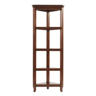 Morgan Corner 5-Shelf | Ballard DesignsDecor, Morgan Corner, Bookcas, Corner 4Shelf, Corner 4 Shelf, Shoji, Corner Shelves, Offices Cabinets, Home Offices