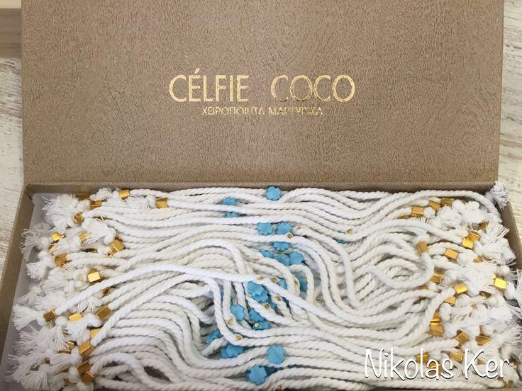 Μαρτυρικά βραχιολάκια Celfie Coco