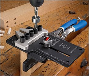 Cool Tool! From Lee Valley. JessEm™ Dowelling Jig - Woodworking