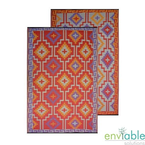 Recycled Plastic Outdoor Rugs Inspired Glamping