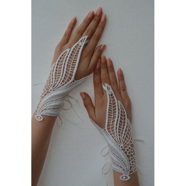 <p>Dantel eldiven modası</p>