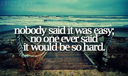 The Scientist- Coldplay. One of the saddest, but favorite, songs of mine.