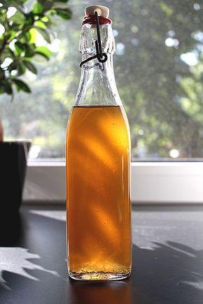 Pfirsichlikör mit Vanillenote, ein schmackhaftes Rezept aus der Kategorie Sommer.