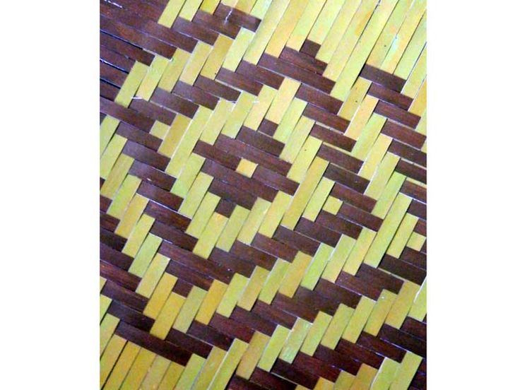 D'source Resources - Gallery Content - Bamboo Weaving Patterns - Learning basic weaving patterns of Bamboo Craft