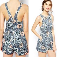 Hot sex woman pictures in fashion summer floral bodycon jumpsuit Best Seller follow this link http://shopingayo.space