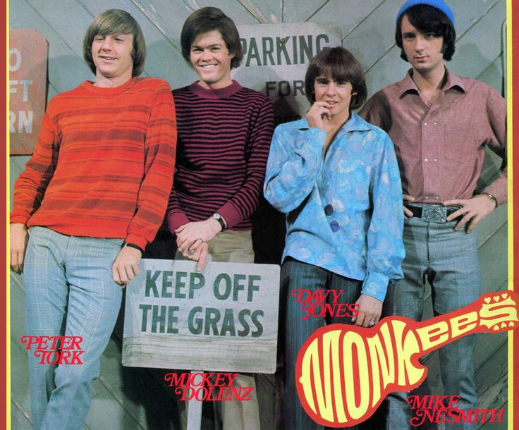 The Monkees (1966-68, NBC) — Peter Tork, Micky Dolenz, Davy Jones & Michael Nesmith