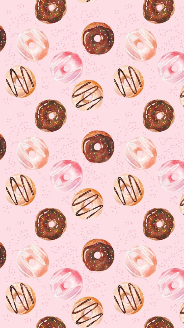 Donuts wallpaper Fondos Pinterest Donuts, Art and
