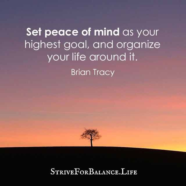 Peace Of Mind Quotes 81 Best Peace Of Mind Images On Pinterest  Attendance Awareness .