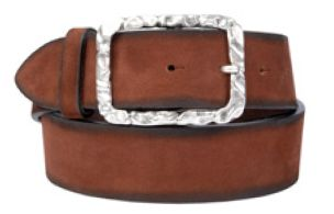 Buckles & Belts - Belt/Gürtel - New Spring Collection 2016 - Torean - Nubuk-Leather - buricato - burn - Design in SWITZERLAND made in ITALY https://www.facebook.com/BucklesBelts