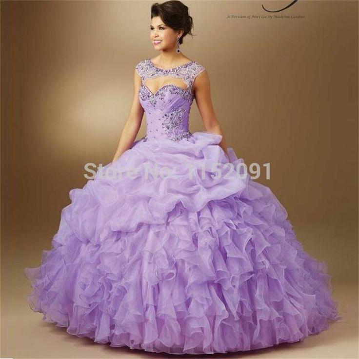 Fantástico Vestido De Novia Con Fajín Morado Ornamento - Vestido de ...