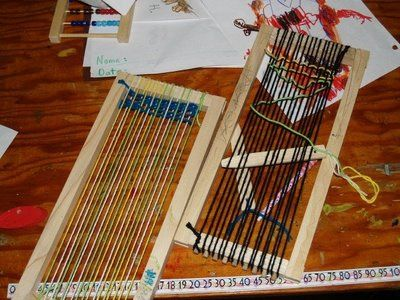1000 Images About Simple Handweaving On Pinterest Paper Weaving Loom And