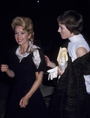 Debbie Reynolds & Julie Andrews