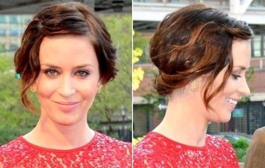 2013 Short Bridesmaid Hairstyles