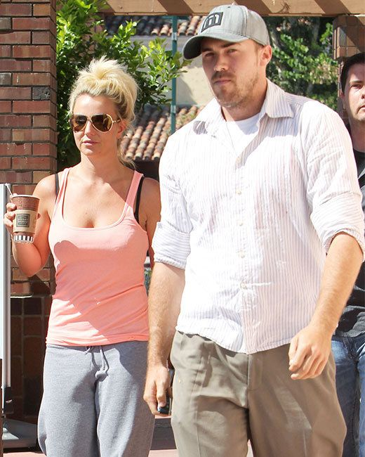 Britney Spears And Boyfriend David Lucado Went For A Coffee Run To Corner Bakery In LA On August We Hope No One Told Her About Ex Hubby Kevin Federlines