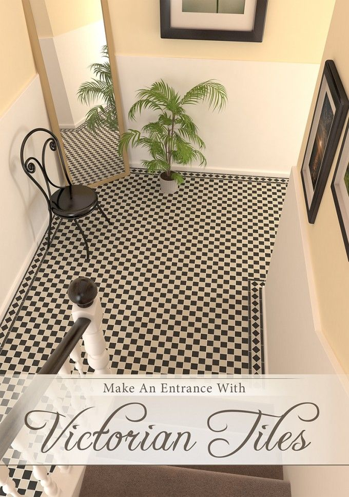 Our Victorian Mosaic Tiles are made of vitrified porcelain meaning that they are frost proof and extremely hardwearing, making them perfect for porches, garden paths and hallways.