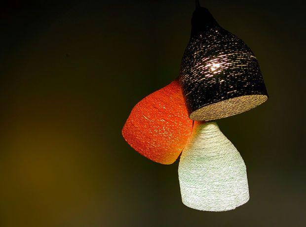 Immagine di carta Designer filato Lamp