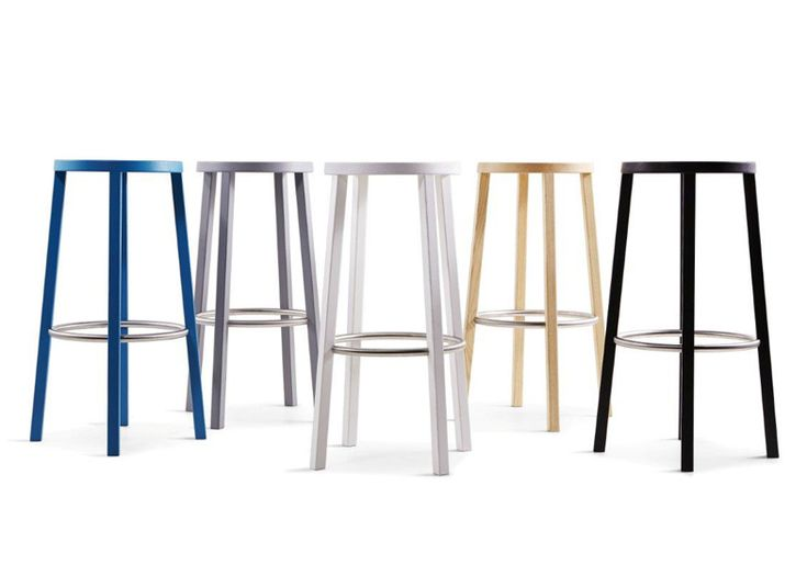 Blocco stool by Naoto Fukasawa for Plank Japanese industrial designer Naoto Fukasawa will launch a wooden stool with a stainless steel footrest for Italian manufacturer Plank