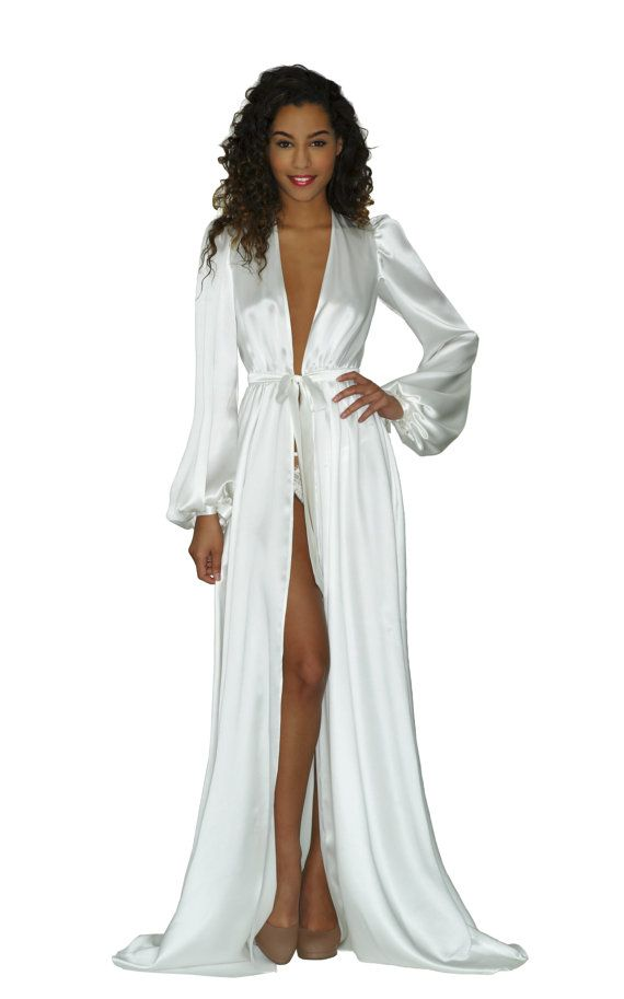 New silk dressing gowns by Angela Friedman! Click to shop online via Etsy.
