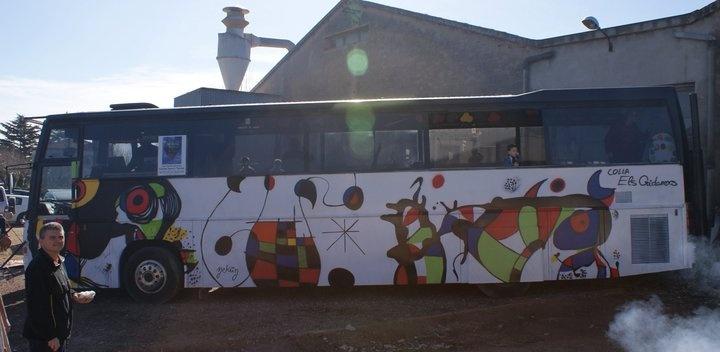 Carroza Carnaval 5– Miró y Dalí