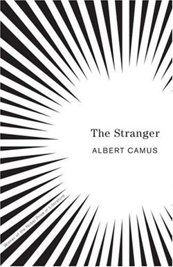 Albert Camus book covers by Helen Yentus.