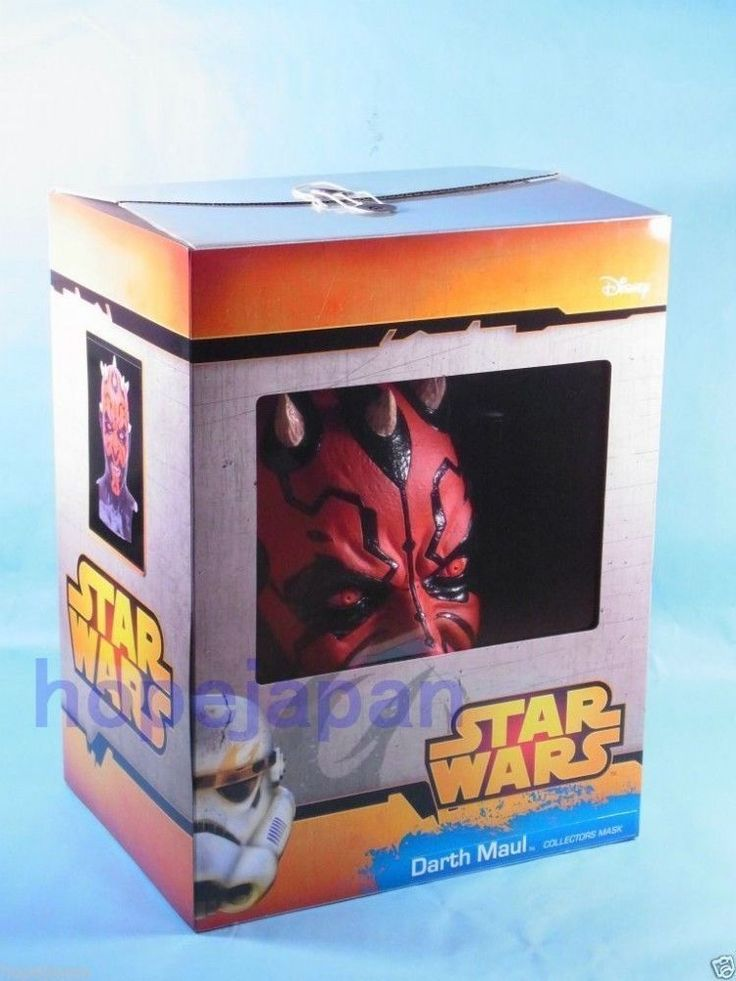 Star Wars Darth Maul Full Face latex COLLECTORS MASK Japan Gift Ogawa studio #Ogawastudio