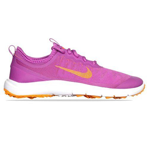 sports shoes e6985 0b38c #Nike #Fi #Bermuda #Golfschuhe für #Damen, #Damen, #WMNS #FI #Bermuda,  #Morado / #Naranja / #Blanco, #36,5 Nike Fi Bermuda Golfschuhe für Damen,  Da…