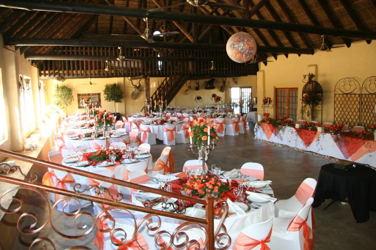 Remember your #Wedding day in #Colours of #White and #Orange wwwthabatshwene.co.za .