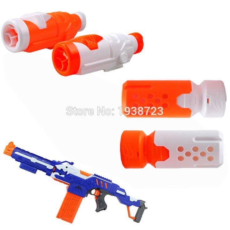 1x Modulus Proximity Barrel Targeting Scope Sight Upgrade Accessory Muffler for Nerf Gun N-STRIKE ELITE Blasters Kids Toys
