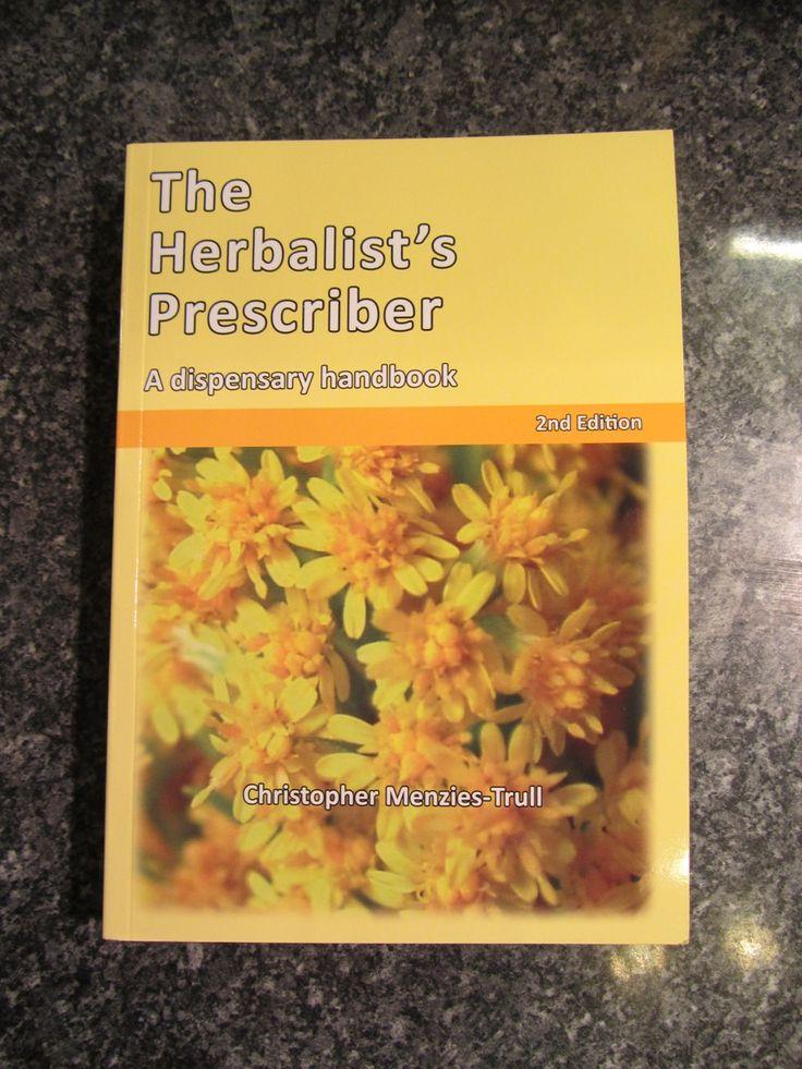 The Herbalist's Prescriber 2nd edition UK orders