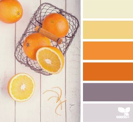 Les 21 meilleures images propos de d coration chambre for Decoration chambre orange et gris