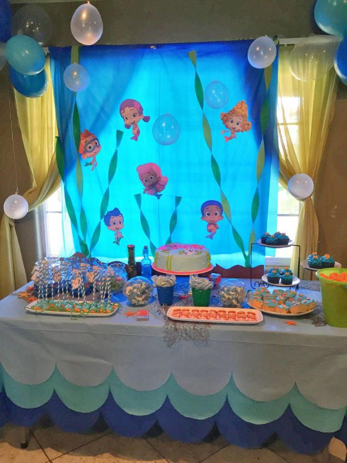Bubble Guppies Birthday Party Decorations Bubble Guppies Regarding 12 Bubble G In 2020 Bubble Birthday Parties Bubble Guppies Birthday Bubble Guppies Birthday Party