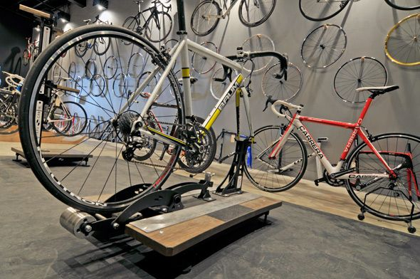 Blacksmith Cycle — the best place for Italian race bikes in the city. 1101 Queen St W.