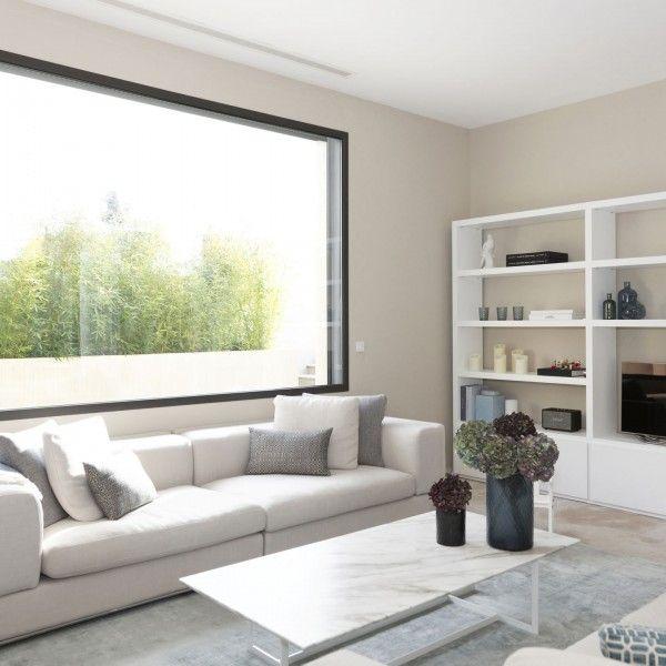 fenêtres et baies vitrées sur mesure pour une maison d'architecture moderne à Grimaud.