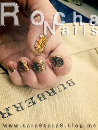 my unique nails / vintage nail art
