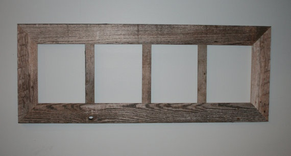 4 Pane 8x10 Barn Wood Thin X 3 Quot Frame Aka Gray Wood