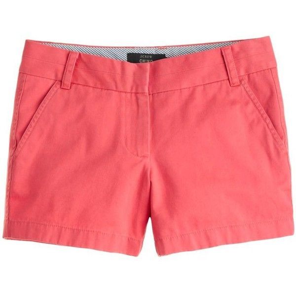 solid shorts ($45) ❤ liked on Polyvore featuring shorts, bottoms, pants/shorts, denim short shorts, bermuda jean shorts, patterned shorts, denim shorts and print shorts