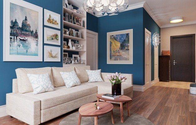 Проект недели: уютная квартира в сталинке с мебелью ИКЕА | Свежие идеи дизайна интерьеров, декора, архитектуры на InMyRoom.ru