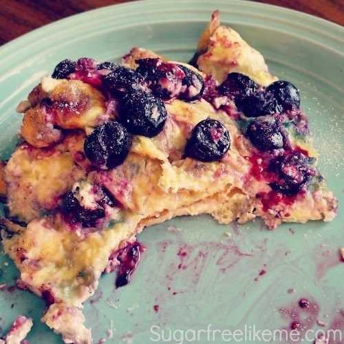 Low Carb Blueberry Cream Cheese Omelet 2 eggs -2 tablespoons softened cream cheese -Handful of blueberries (you can experiment with other berries here as well! Strawberries, blackberries, raspberries
