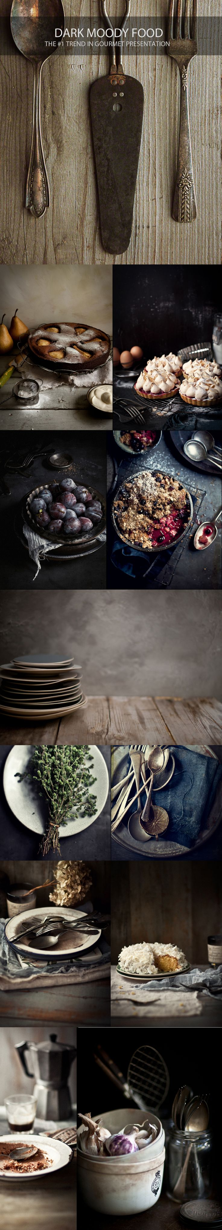 Katie Quinn Davies I Dark Moody Food Photography I PUREfourhundred Feature