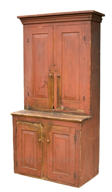 17 Best Images About Primitive Tall Cupboards On Pinterest
