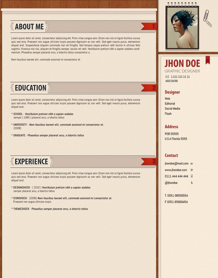 12 best Cv images on Pinterest Cv template, Resume templates and - colored resume paper