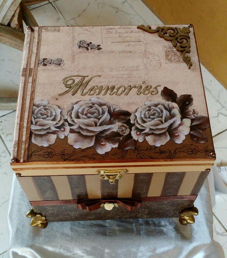#caixa #para #foto #artesanato # mdf