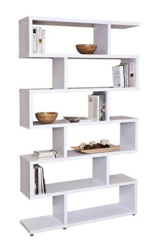 estantera zigzag ideal para utilizar como librera o separar ambientes esta canteado por